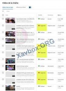 vidéos de xavbox sur youtube